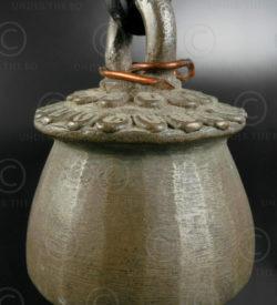 Small Burmese bell T410A. Burma.