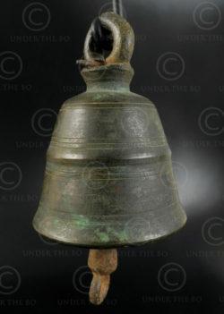 Small Thai bell T408B. Siam (Thailand).