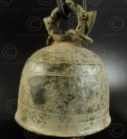 Small Thai bell T409C. Siam (Thailand).