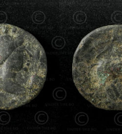 Kushan bronze coin C134A. Kushan Empire.