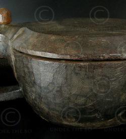 Spice box C37b. Rosewood. Kerala, southern India.