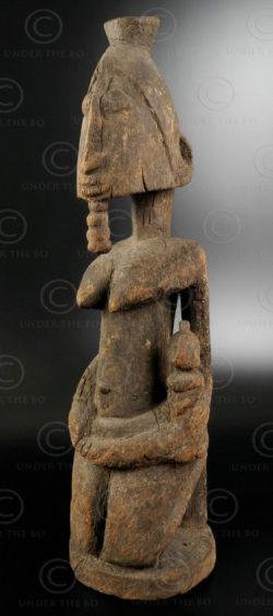 Statue Africaine Dogon AF129. Mali.