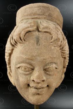 Statue Indienne C24. Inde du sud.