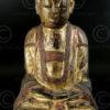 Statue taoiste chinoise YA113C. Minorité Yao Lantien, Chine du sud.