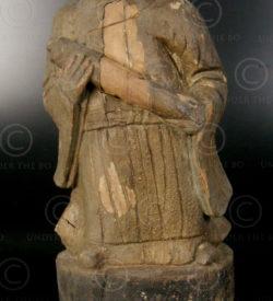 Statue taoiste chinoise YA150A. Minorité Yao Lantien, Chine du sud.