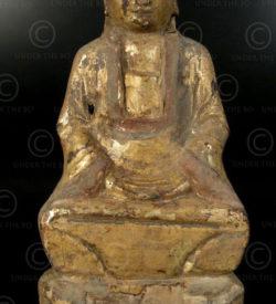 Statue taoiste chinoise YA150L. Minorité Yao Lantien, Chine du sud.
