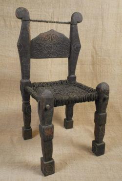 Kohistan chair PK43. Kohistan area of Northern Pakistan.