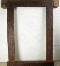 Swat door frame SWDF1. Swat valley, Pakistan. 19th century.