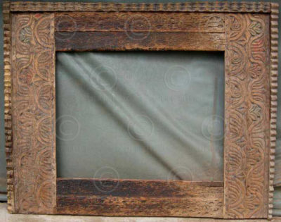 Swat mirror MF9. Cedarwood. Pakistan.