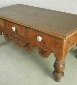 Table basse coloniale i5-98. Inde du Sud.