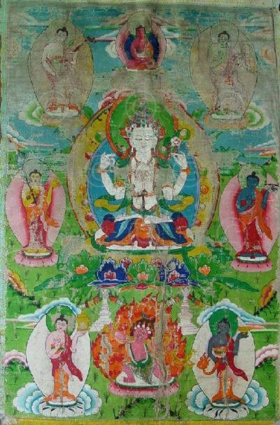 Thangka Tamang NT1, minorité Tamang,  Népal