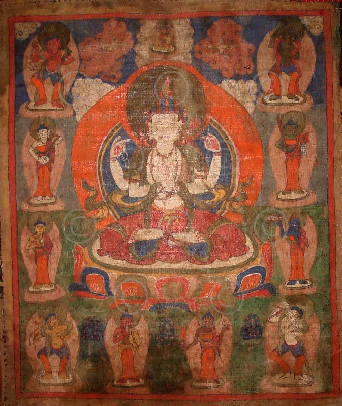 Thangka Tamang NT11. Minorité Tamang. Népal
