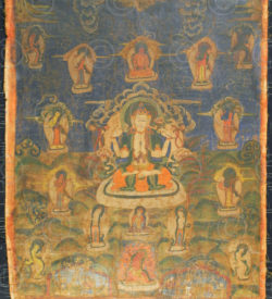 Thangka Newar NT5, Newar culture.Népal.