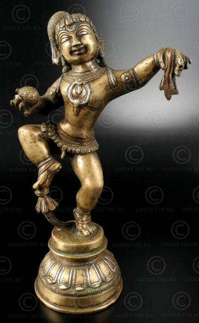 Three metals Krishna IN612. Uttar Pradesh, Northern India.