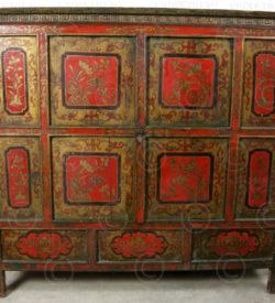 Tibetan cupboard M25. Tibet.