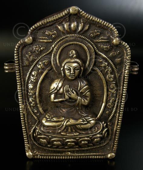 Tibetan gau box TIB145. Tibet, 19th cent.