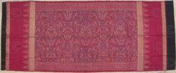 Tissu Sumatra ID9, Palembang, Sumatra. Indonésie.