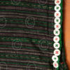 Taungyo Tunic BU8 Silk weaving tunic, Jobtear seeds, glass buttons, Taungyo mino