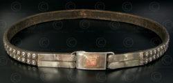 Turkmen silver belt S69. Afghanistan.