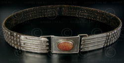 Turkmen silver belt S70. Afghanistan.