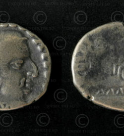 Western Satraps silver coin C282. Western Kshatrapas (Sind, Gujarat, Maharashtra