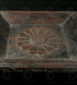 Wooden plate IN560B. South India.