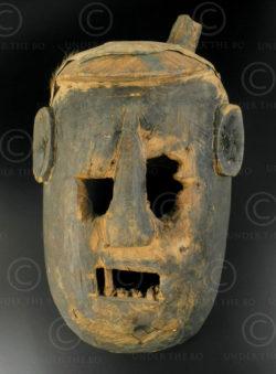 Yao taoist helmet YA23. Northern Laos.