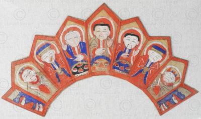 Yao priest crown YA139A. Lantien Yao minority, Southern China or Laos.
