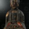 Statue of East Asia Taoist YA87E, Lantien Yao minority. Southern China