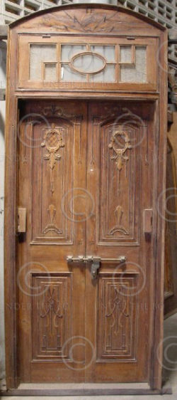 Door and windows M5-00. Colonial Art Deco. North India