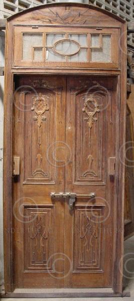 Porte M5 et fenêtres M8 indiennes, Inde du nord