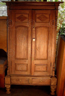Cabinet colonial L8-98. Inde.