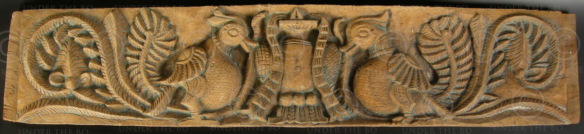 Indian Carved Panel 08mt44c