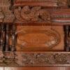 Madras door 08MT7. Teak wood. Madras, Southern India.