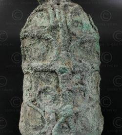Cloche bronze Banchiang T372. Région de Ban Chiang, district de Nong Han, nord e