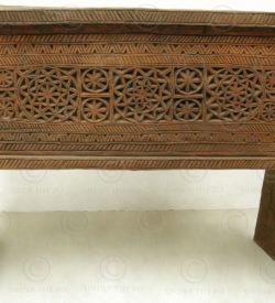 Coffre Nuristan NUF1. Bois de pin du Laos. Fabriqué à l'atelier Under the Bo