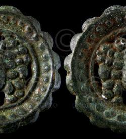 Siam coin C165B. Reign of king Chulalongkorn (Rama V - 1868-1910). Thailand
