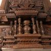 Madras door 08MT16C. Satinwood. 19th century. South India