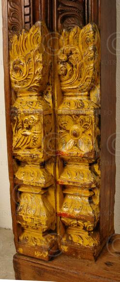 Madras Door Frame 08mt16a Teak Wood Madras Southern India