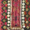 Pakistan tribal embroidery KO94C. Kohistan tribal area, Northern Pakistan mounta