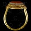Eye gold ring R219. Afghanistan.