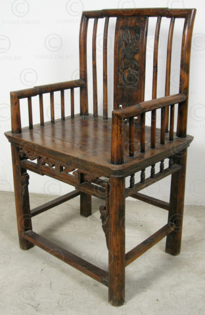 Fauteuils chinois CH30. Sichuan, Chine.