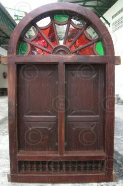 Portes & Fenêtres H2D-00. Ensemble de neuf éléments. Inde du sud