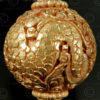 Engraved Buddhist beads BD121F. Handmade in Nepal.