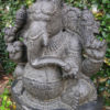 Granite Ganesh statue 09MM10. Tamil Nadu, southern India.