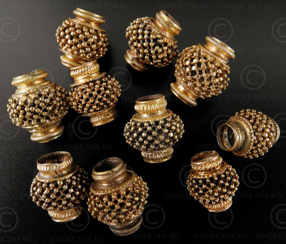Tamil Gold Beads Bd114b Nadu