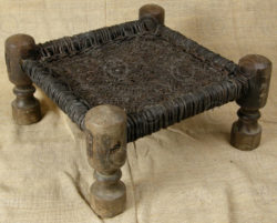 Swat stool SWS1. Swat valley, Pakistan
