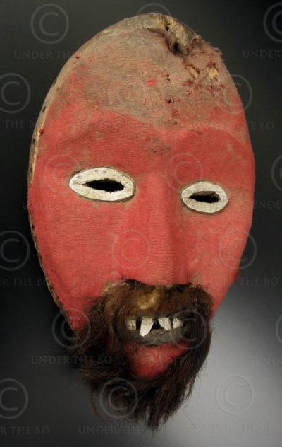 Masque Dan DN2. Culture Dan. Liberia, Afrique de l'ouest