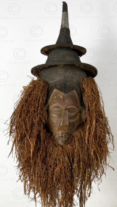Masque Suku R12. Congo.