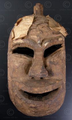 Masque Yao Lantien LT26. Nord Laos - Chine méridionnale